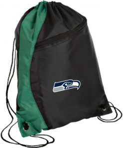 Private: Seattle Seahawks NFL Pro Line Gray Victory Colorblock Cinch Pack