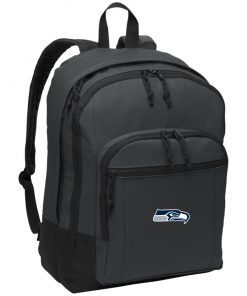 Private: Seattle Seahawks NFL Pro Line Gray Victory Basic Backpack