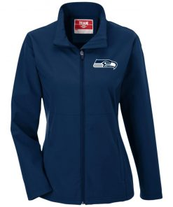 Private: Seattle Seahawks NFL Pro Line Gray Victory Ladies' Soft Shell Jacket