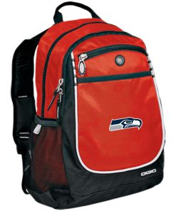 Private: Seattle Seahawks NFL Pro Line Gray Victory Rugged Bookbag