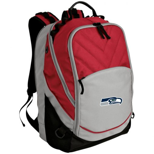 Private: Seattle Seahawks NFL Pro Line Gray Victory Laptop Computer Backpack
