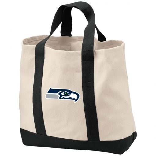 Private: Seattle Seahawks NFL Pro Line Gray Victory 2-Tone Shopping Tote