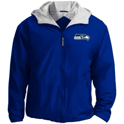 Private: Seattle Seahawks NFL Pro Line Gray Victory Team Jacket