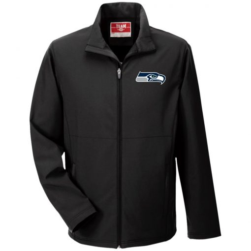 Private: Seattle Seahawks NFL Pro Line Gray Victory Men's Soft Shell Jacket