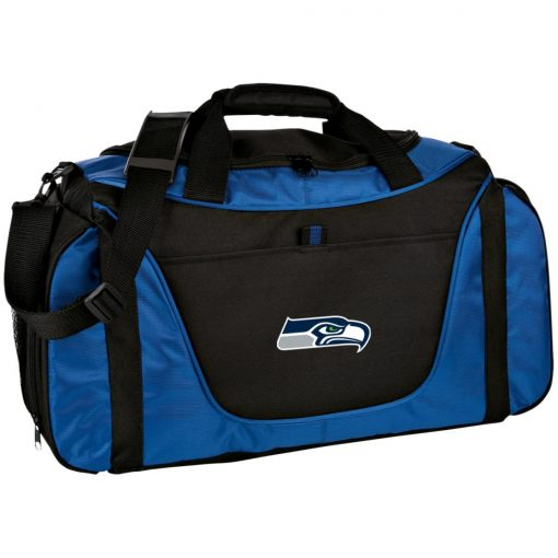 Private: Seattle Seahawks NFL Pro Line Gray Victory Medium Color Block Gear Bag