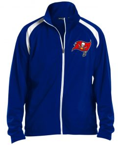 Private: Tampa Bay Buccaneers Men's Raglan Sleeve Warmup Jacket