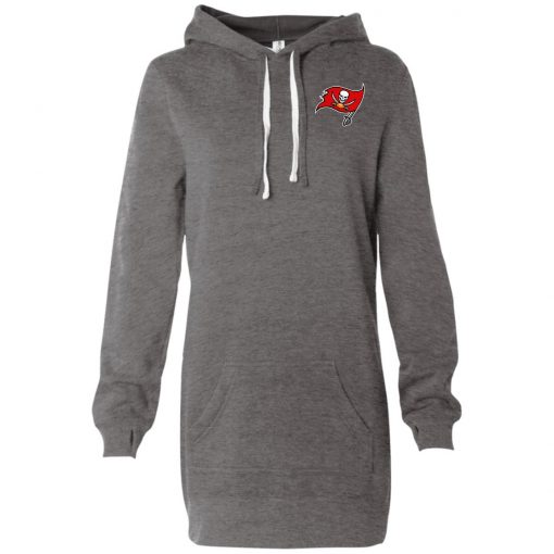 Private: Tampa Bay Buccaneers Women's Hooded Pullover Dress