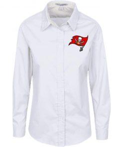 Private: Tampa Bay Buccaneers Ladies' LS Blouse