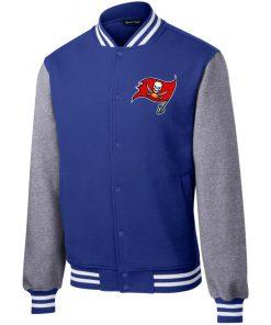 Private: Tampa Bay Buccaneers Fleece Letterman Jacket