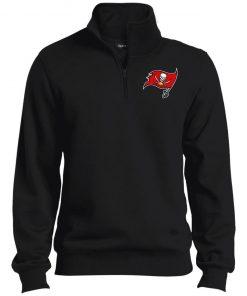 Private: Tampa Bay Buccaneers Tall 1/4 Zip Sweatshirt