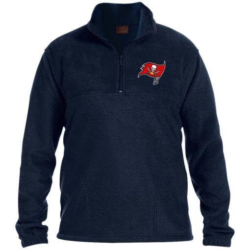 Private: Tampa Bay Buccaneers 1/4 Zip Fleece Pullover