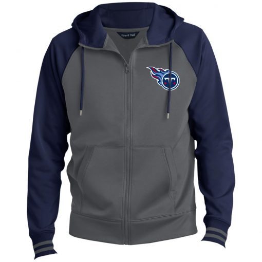 Private: Tennessee Titans Men's Sport-Wick® Full-Zip Hooded Jacket