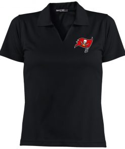 Private: Tampa Bay Buccaneers Ladies' Dri-Mesh Short Sleeve Polo