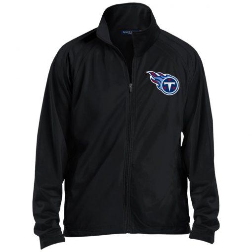 Private: Tennessee Titans Men's Raglan Sleeve Warmup Jacket