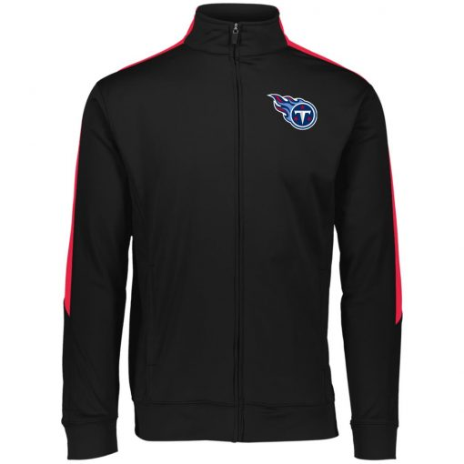 Private: Tennessee Titans Performance Colorblock Full Zip
