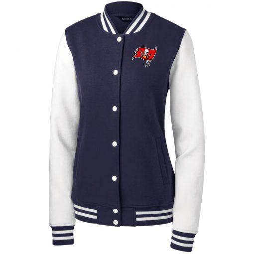 Private: Tampa Bay Buccaneers Women's Fleece Letterman Jacket