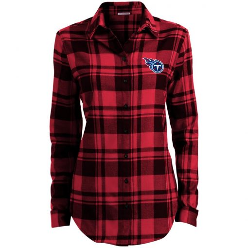 Private: Tennessee Titans Ladies' Plaid Flannel Tunic