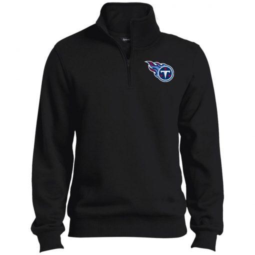 Private: Tennessee Titans Tall 1/4 Zip Sweatshirt