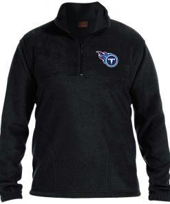 Private: Tennessee Titans 1/4 Zip Fleece Pullover