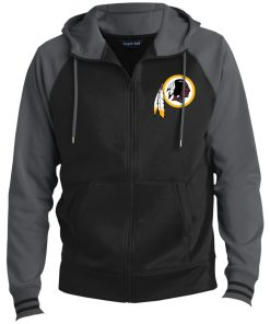 Private: Washington Redskins Men's Sport-Wick® Full-Zip Hooded Jacket