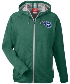 Private: Tennessee Titans Men's Heathered Performance Hooded Jacket
