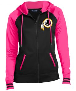 Private: Washington Redskins Ladies' Moisture Wick Full-Zip Hooded Jacket
