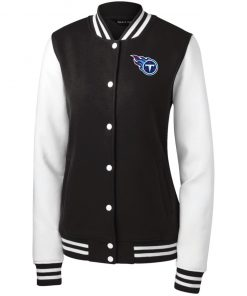 Private: Tennessee Titans Women's Fleece Letterman Jacket