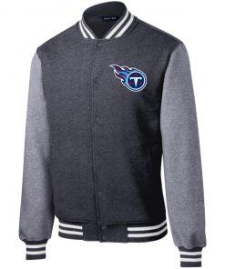 Private: Tennessee Titans Fleece Letterman Jacket