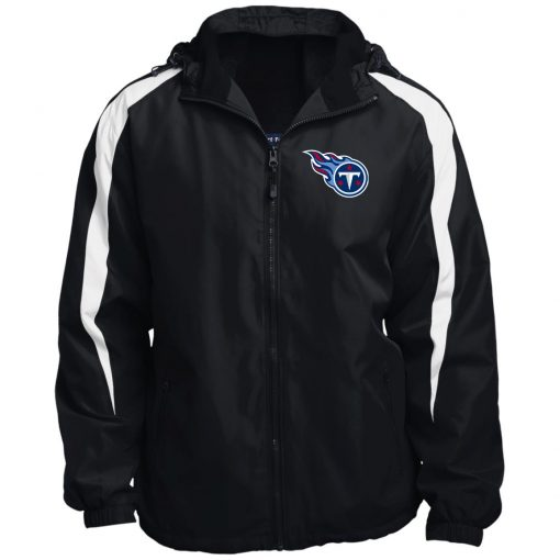 Private: Tennessee Titans Fleece Lined Colorblocked Hooded Jacket