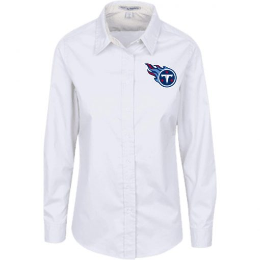Private: Tennessee Titans Ladies' LS Blouse