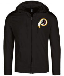 Private: Washington Redskins Lightweight Full Zip Hoodie