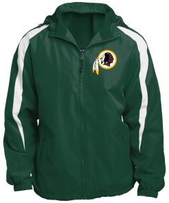 Private: Washington Redskins Fleece Lined Colorblocked Hooded Jacket