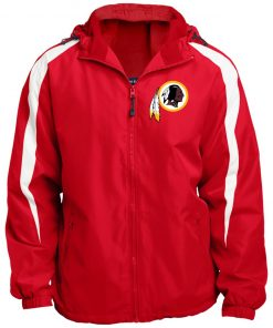 Private: Washington Redskins Fleece Lined Colorblocked Hooded Jacket