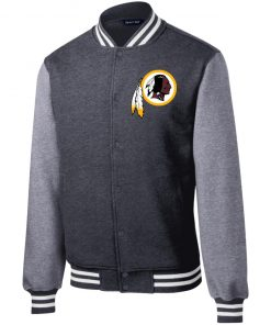 Private: Washington Redskins Fleece Letterman Jacket