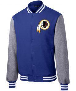 Private: Washington Redskins Fleece Letterman Jacket