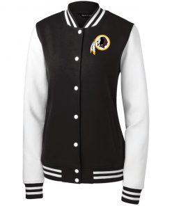 Private: Washington Redskins Women's Fleece Letterman Jacket