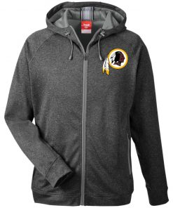 Private: Washington Redskins Men's Heathered Performance Hooded Jacket